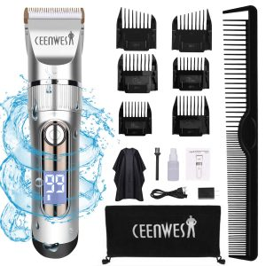 Ceenwes Hair Clippers Professional Hair Trimmer