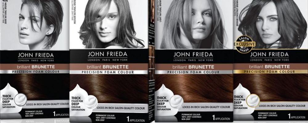 John Frieda hair colors