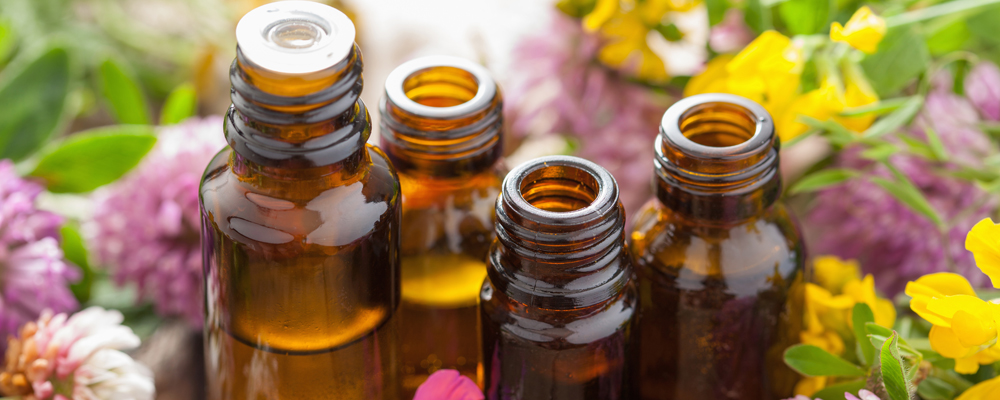 Essential oils and medical herbs