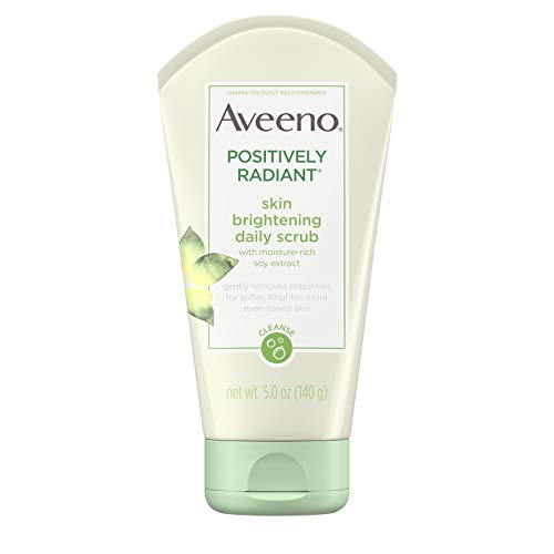 Aveeno Positively Radiant Skin Brightening Exfoliating Daily Facial Scrub
