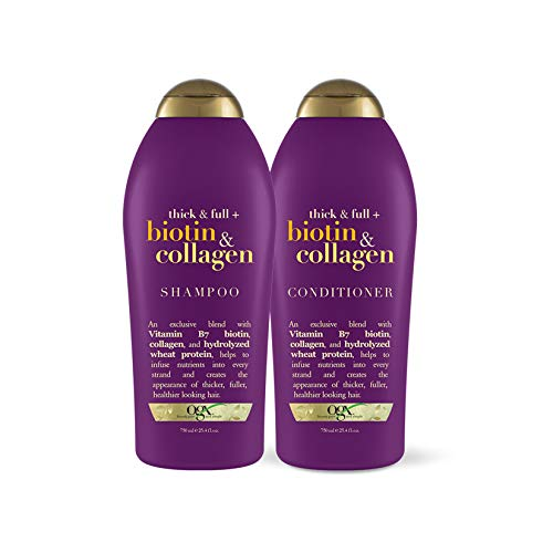 OGX Thick & Full Shampoo & Conditioner