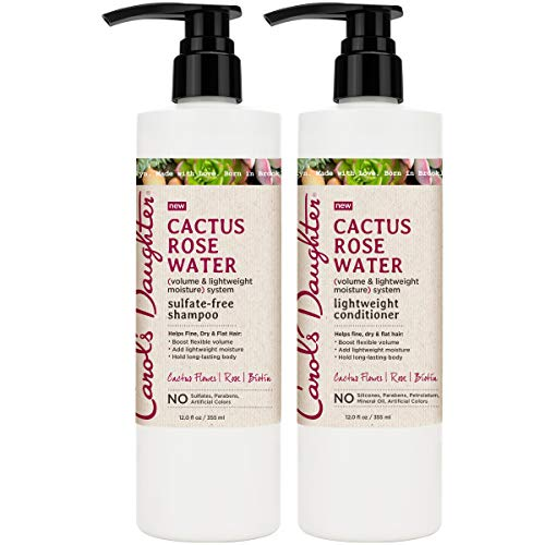 Carol's Daughter Cactus Rose Water Shampoo and Conditioner Set