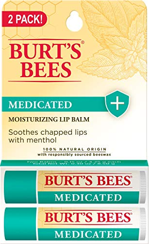 Burt's Bees 100% Natural Medicated Moisturizing Lip Balm