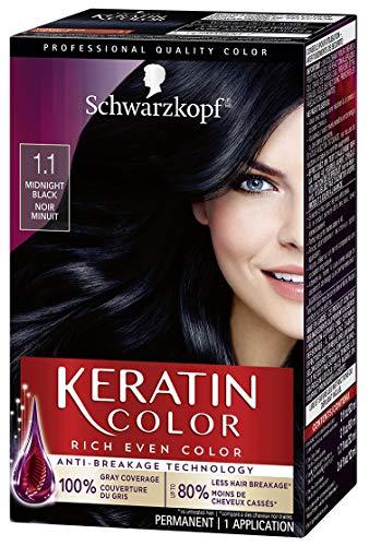 Schwarzkopf Keratin Color Permanent Hair Color Cream